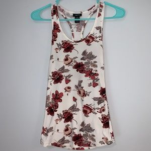 Floral tank top. Very soft and comfortable!